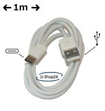 Typ C USB-C USB 1m Kabel Ladekabel Datenkabel Tablet -NEU- 1 m weiß