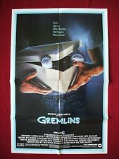 GREMLINS * 1984 ORIGINAL MOVIE POSTER 1SH GIZMO CHRISTMAS CLASSIC HALLOWEEN NM-M