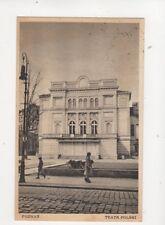 Poznan Teatr Polski Poland Vintage Postcard 101b