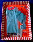 Vintage Barbie Doll #1489 CLOUD 9 NINE - Shorty Nightgown Robe Set 1969 - NRFB