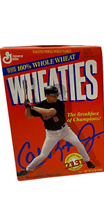 Cal Ripken Jr Wheaties Cereal Boxes Consecutive Games 2131 Orioles Unopened