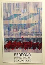 Pedrono. Galerie Cupillard, St-Tropez, 1989 Poster