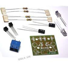 Kit de Hágalo usted mismo 5MM LED luz de Flash simple circuito Sencillo Flash Producción Suite