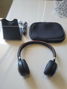 Jabra Evolve 65 Stereo Wireless Headset with charging stand
