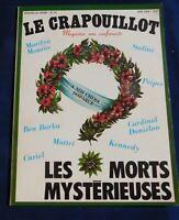 LE CRAPOUILLOT Nouvelle série n°51 LES MORTS MYSTÉRIEUSES.  1979