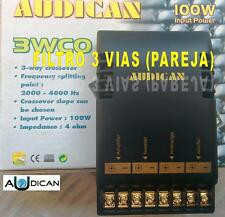 FILTROS  ALTAVOCES DE 3 VIAS AUDICAN 3 WCO 100w. (PAREJA)