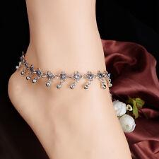 Fashion Women Anklet Ankle Bracelet Chain Barefoot Sandal Beach Foot Jewelry YW