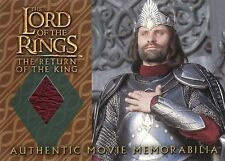 Lord of the Rings Return of the King Aragorn's Coronation Shirt Costume Card