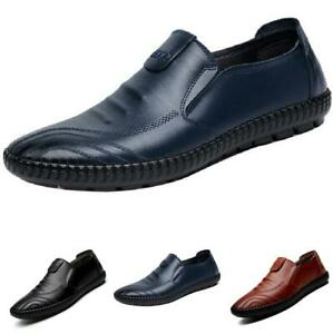 Men Driving Moccasins Shoes Pumps Slip on Loafers Soft Comfy Breathable Casual B