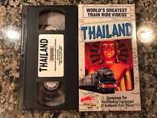 Worlds Greatest Train Ride Videos Thailand Vhs! PBS Discovery Channel