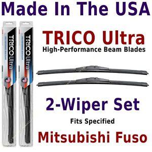 Buy American: TRICO Ultra 2-Wiper Blade Set fits Mitsubishi Fuso: 13-19-19