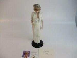 "Franklin Mint, The Diana, Princess of Wales 17"" Porcelain Portrait Doll"
