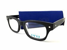 ECO Eyeglasses CHICAGO Black Frame New with Tags 50mm