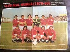 Team Group Póster/foto del equipo-Real Murcia 1979-80 Color emitido por como