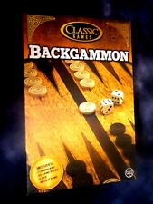 Classic Games BACKGAMMON Free Shipping