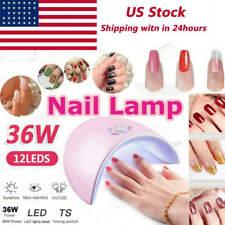 36W Led Uv Nail Polish Dryer Lamp Gel Acrylic Curing Professional Manicure Tool