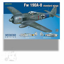 EDUARD 1/72 FW-190A-8 STANDARD WINGS WEEKEND EDITION KIT 7435