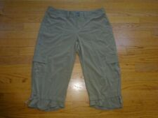 Women's Athleta Light Brown Capri Pants Size 6