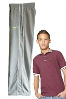 New Nike Boys Tracksuit Bottoms Track Trousers Pants Grey M Age 10 -12 Yrs
