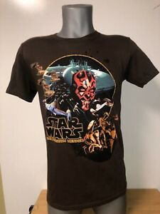 New Star Wars Starwars The Phantom Menace Darth Maul T-Shirt (S)