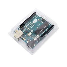 PVC UNO R3 Case Transparent Plastic Cover Enclosure Computer Box For Arduino