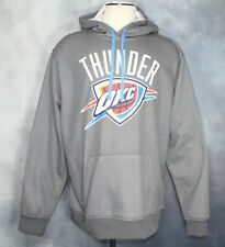 Fanatics Oklahoma City Thunder Gray Hoodie Kangaroo Pocket Men's Size 2XL EUC