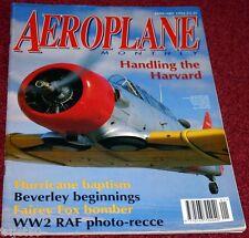 Aeroplane Monthly 1994 January Hurricane,HP88,Harvard,Fox