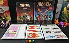 MARVEL SUPER HEROES ADVANCED SET 1986 - w/Dice - UNUSED w/Box
