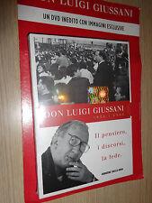 DVD DON LUIGI GIUSSANI IL PENSIERO I DISCORSI LA FEDE 1922 2005 CORRIERE SERA