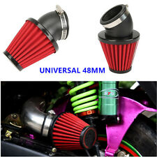 "48mm Car Truck Motorcycle Racing 3"" INCH KN Cold Air Intake Filter Kit Universal"