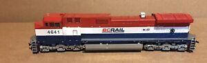 HO C44-9W BC Rail