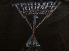 TRIUMPH Reproduction World Tour 1981 Black Concert T Shirt Vtg Style LARGE EUC