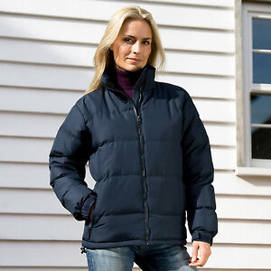 Result Holkham Down Feel Puffer Jacket Coat Padded Warm Insulated Rain (R181F)