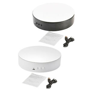 Motorized Rotating Display Stand 360 Degree Turntable Electric for Shop Cake