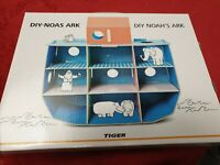 DIY Noah's Ark 3 years + BNIB New Construction Craft Kit Tiger Build Your Own