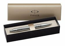 Parker IM Premium Shiny Chrome Chiselled Luxury Ballpoint Pen S0908660/ Gift Box