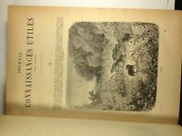 Jounal des Connaissances Utiles, French book printed in 1881, Original