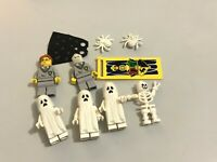 Job Lot Lego Mini Figs Harry Potter Ghosts Halloween Spooky Skeleton Spiders (4
