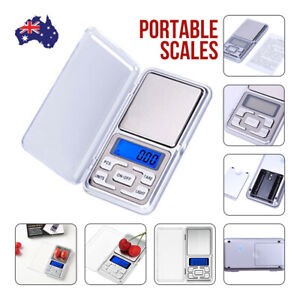 Pocket Digital Scale 0.01G 200G Jewellery Gold Weighing Mini LCD Electronic AU