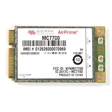 Unlocked Sierra MC7700 Mini PCI-e 3G HSPA LTE 100MBP Wireless WWAN WLAN Card GPS