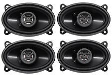 "New listing (4) Hifonics Zs46Cx 4x6"" 800 Watt Coaxial Car Audio Speakers"