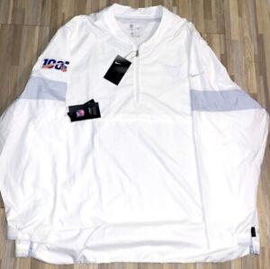 Nike Tennessee Titans NFL 100 Sideline Coaches Jacket Sz XL CJ4666-100 White