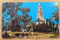 BALBOA PARK SAN DIEGO CA vintage unused glossy chrome postcard FS