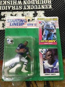 1993 EMMITT SMITH Dallas Cowboys Starting Lineup Dupe