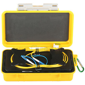 Fiber Optic Launch Box Dummy Fiber G.652D 2000M LC/UPC-LC/UPC OTDR Launch Cable