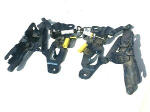 BMW 5 SERIES F10/ F11 BONNET HINGES PAIR WITH ACTUATOR 7249887   7249888