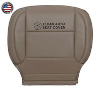 2016-2018 GMC Sierra 3500HD -Driver Side Bottom Synthetic leather Seat Cover Tan