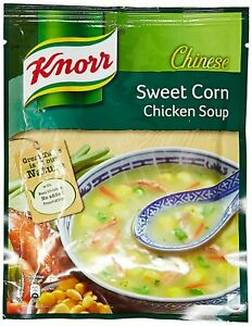 Knorr Sweet Corn Chicken Soup, 42g count 3