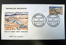 MADAGASCAR  485   PREMIER JOUR FDC       USINE DE CHROME      15F     1971