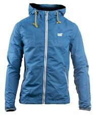 Caterpillar CAT Lifestyle Mckinley blue water-resistant zip-up jacket